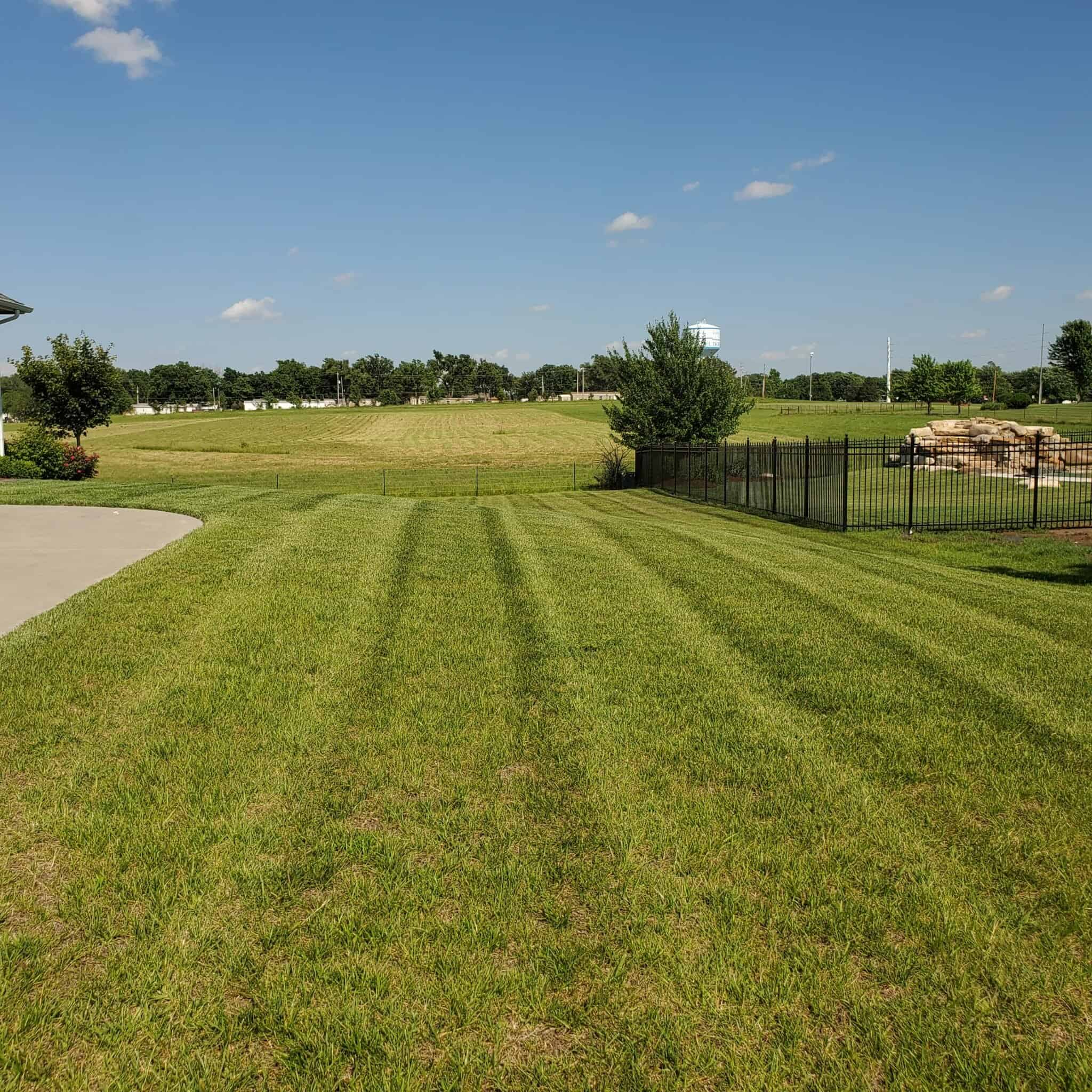 your lawn on high temperatures